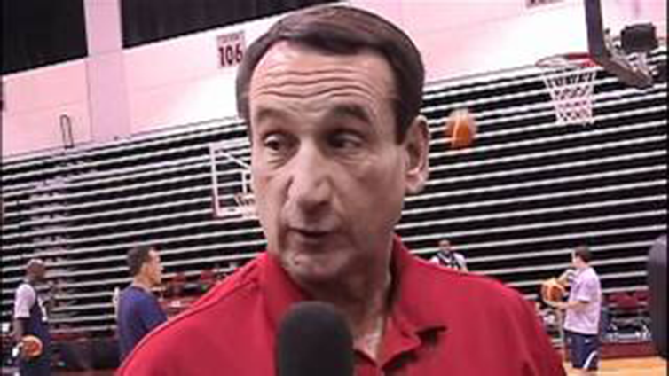 Coach K, USAB